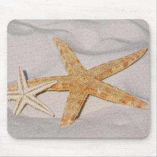 Mousepad Estrela do mar na areia
