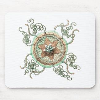 Mousepad Estrela do mar verde