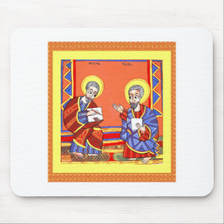 Mousepad Etíope-Bíblia-Santo-Luke-Santo-John