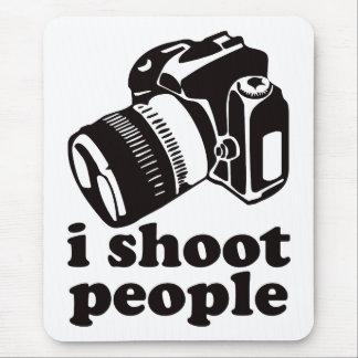 Mousepad Eu disparo em pessoas!