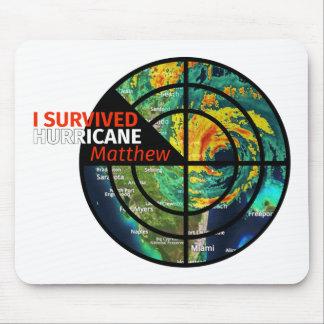 Mousepad Eu sobrevivi ao furacão Matthew - sobrevivente da