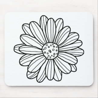 Mousepad Flor da margarida