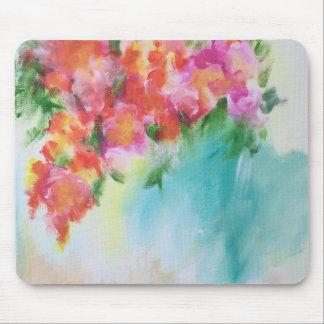 Mousepad floral abstrato