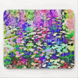 MOUSEPAD FLORAL ABSTRATO