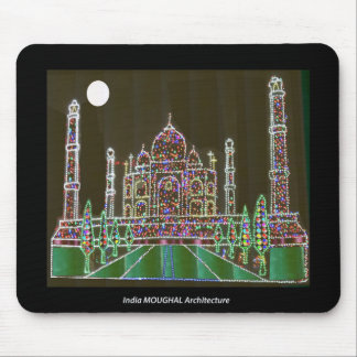 Mousepad Herança de India Agra da arquitetura de TAJ Mahal