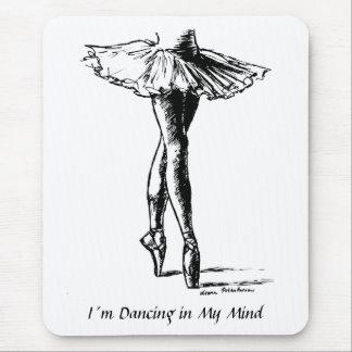 Mousepad I´m que dança na minha mente