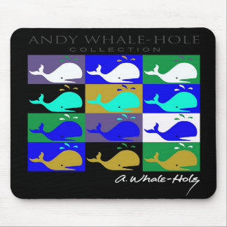 Mousepad invertido painel da cor de Andy Whale-Hol