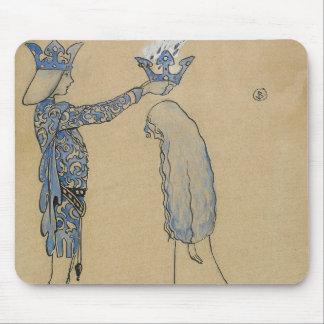Mousepad John Bauer - pnha então o príncipe uma coroa do