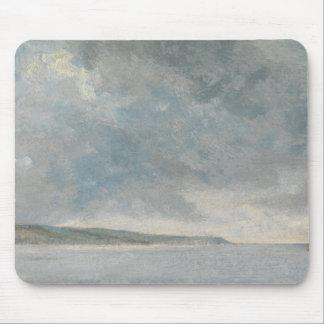 Mousepad John Constable - cena litoral com penhascos