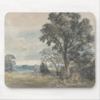 Mousepad John Constable - paisagem em Bergholt do leste