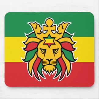 Mousepad Leão de Rastafari de Judah