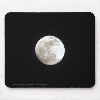 Mousepad - Lua cheia no céu nocturno claro