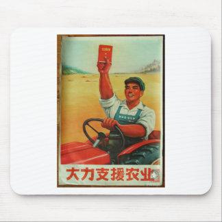 Mousepad Manifesto chinês original do poster da propaganda