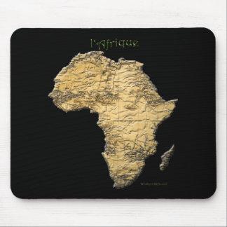Mousepad Mapa da série de ÁFRICA