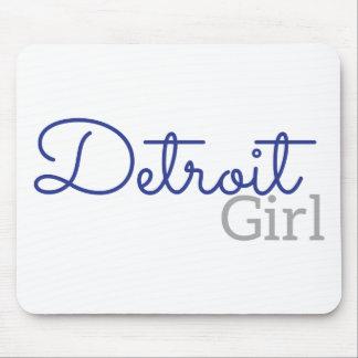 Mousepad Menina de Detroit