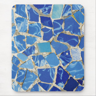 Mousepad Mosaicos de Gaudi com um toque do óleo