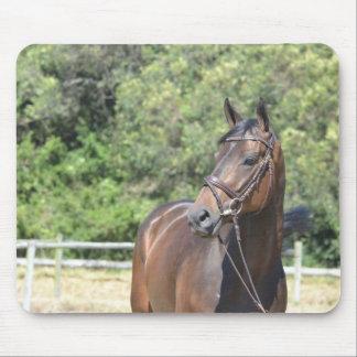 Mousepad Mouspad - Dunkelbaunes cavalo