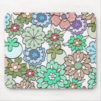 """Mousepad Multi-Cores """"florais"""""""