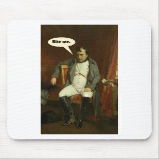 Mousepad Napoleon diz:  Morda-me