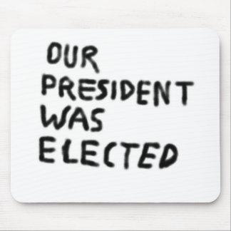 Mousepad Nosso Elected do presidente Ser