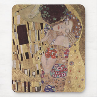Mousepad O detalhe do beijo - Gustavo Klimt