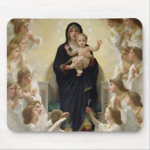 Mousepad O Virgin com Anjo, 1900