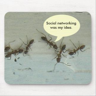 Mousepad - os trabalhos em rede sociais eram minha