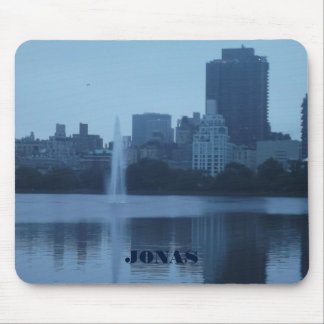 Mousepad Paisagem azul dos tons da Nova Iorque