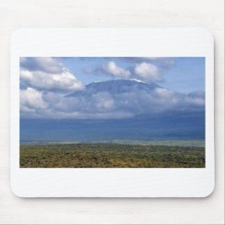 Mousepad Paisagens do marco do Monte Kilimanjaro Tanzânia