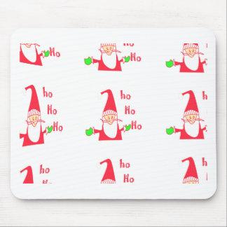 Mousepad Papai noel engraçado Hohoho do Feliz Natal do