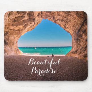 Mousepad Paraíso bonito da praia