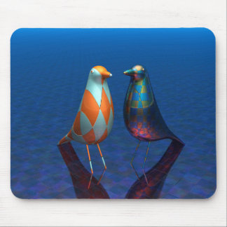 Mousepad pássaros