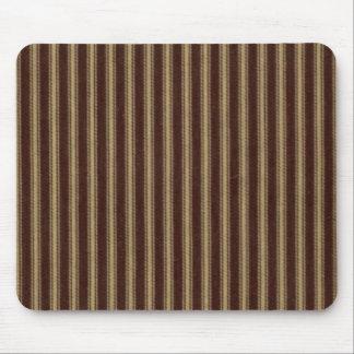 "Mousepad ""Pin Listra-Brown/Tan do design tradicional"""