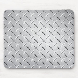 Mousepad Placa de metal do diamante