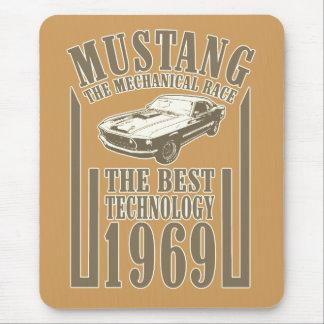 Mousepad Poder mecânico do mustang