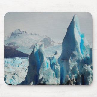 Mousepad Pontos do gelo na geleira andina de Perito Moreno