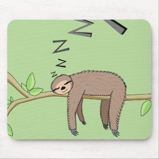 Mousepad Preguiça do sono