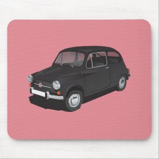 Mousepad Preto de Fiat 600D