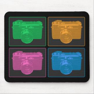 Mousepad Quatro câmeras do pop art
