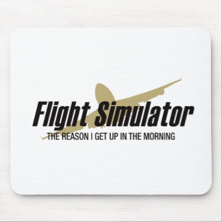 Mousepad Razão que de Flight Simulator eu me levanto