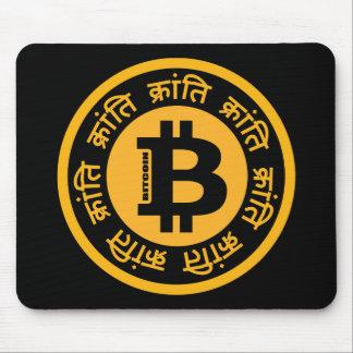 Mousepad Revolução de Bitcoin (versão do Hindi)