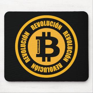 Mousepad Revolução de Bitcoin (versão espanhola)