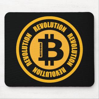 Mousepad Revolução de Bitcoin (versão inglesa)