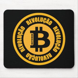 Mousepad Revolução de Bitcoin (versão portuguesa)