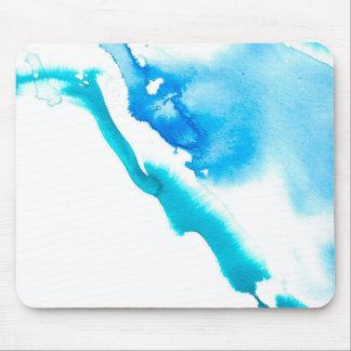 Mousepad Sangramento da tinta azul