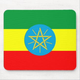 Mousepad símbolo longo da bandeira de país de Etiópia