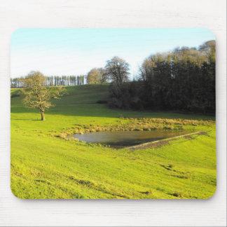 Mousepad Sol do outono em Somerset
