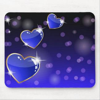 Mousepad Sparkling dos corações