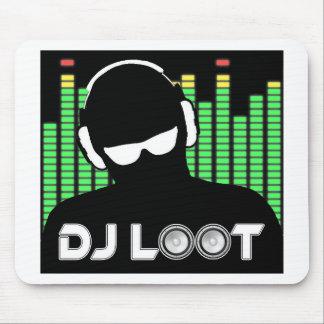 Mousepad Tapete do rato do pilhagem do DJ