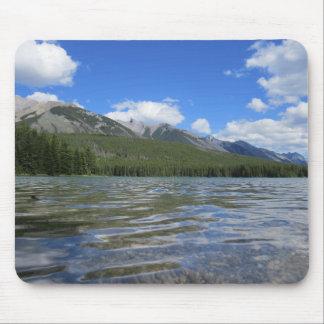 Mousepad Tapete do rato natural da paisagem de Banff